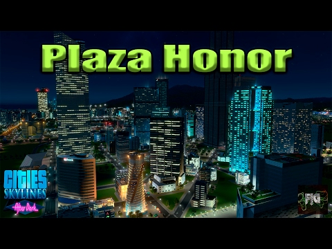 Cities Skylines En Español | The New City EP37 | #Plaza Honor
