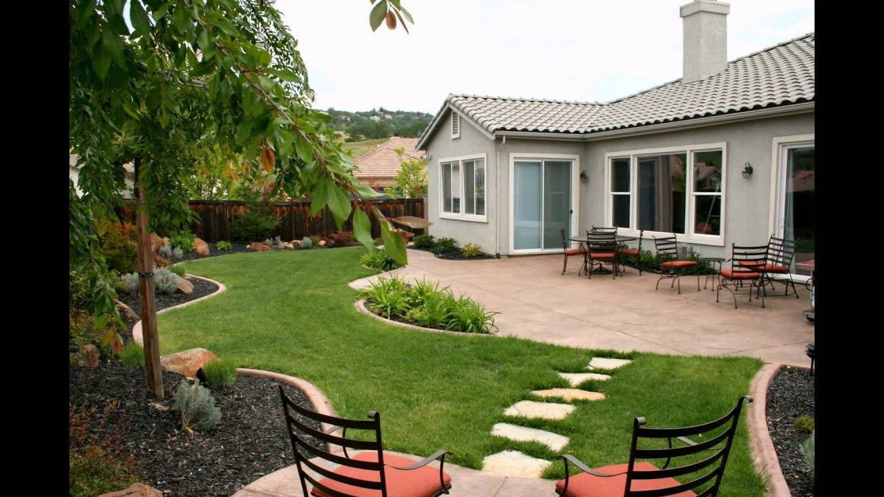 Small backyard designs backyard designs for small yards youtube Designer backyards
