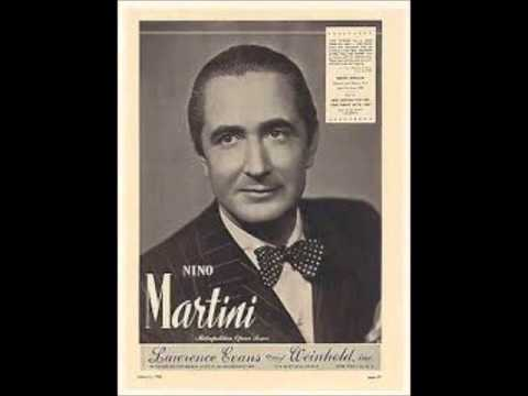 Nino Martini 1902-1976 Great Tenors from the Past Vol.2