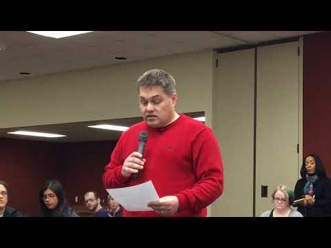 ECOT Deputy Superintendnt Christopher Meister defends the school to its sponsor