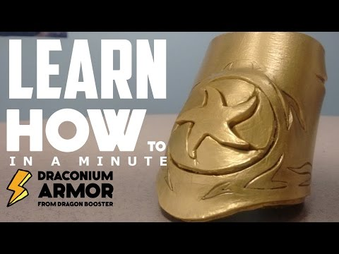 DIY Dragon Booster Armor: Learn How To In A Minute