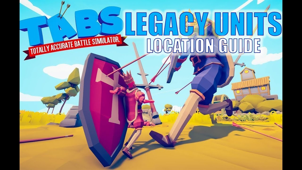 TABS - LEGACY UNIT - LOCATION GUIDE - QUICK WITH TIME STAMPS - UNLOCK LEGACY CAMPAIGN