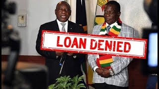 South Africa rejected Zimbabwe loan request