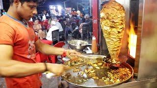 Roadside Best Chicken Shawarma For Non Veg Lovers  Non Veg Recipes  Indian Street Food