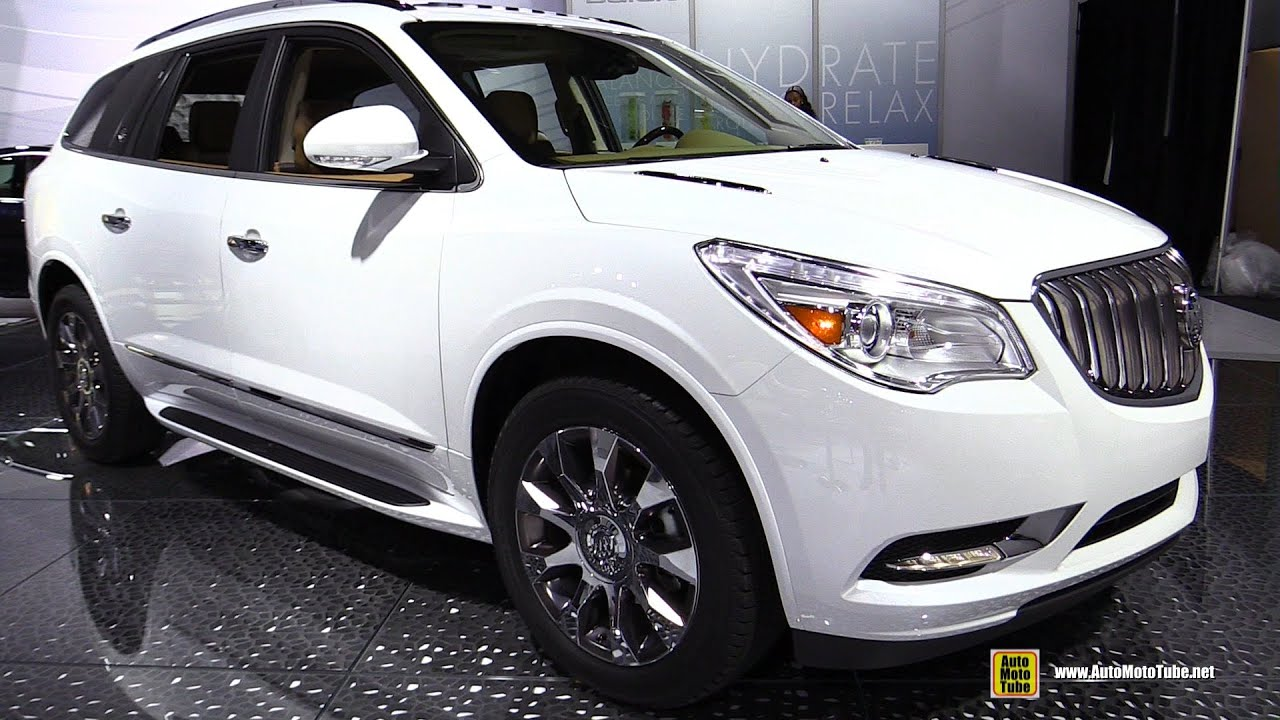 2016 buick enclave awd exterior and interior walkaround. Black Bedroom Furniture Sets. Home Design Ideas
