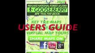 Utah ATV Trail Map book
