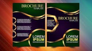 Brochure Design in CorelDraw x7 Tutorial Design # 23 By AS GRAPHICS