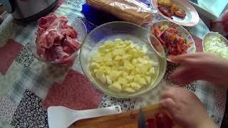 1). Приготовить борщ из свежей капусты.