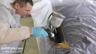 видео Локальная покраска автомобиля