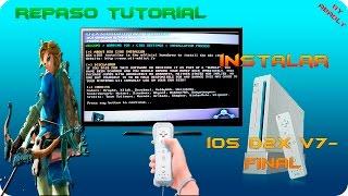 wii repaso tutorial    instalar cios d2x v7 final    4 3u 2016