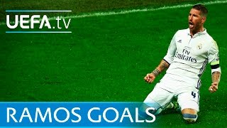 Sergio Ramos 5 memorable goals
