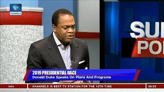 Why I Want To Be Nigeria's President - Donald Duke Pt.1 | Sunday Politics |