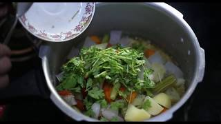 Kerala Sambar Video Recipe In Malayalam