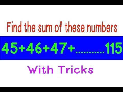 Sum of n natural numbers formula | Sum of natural numbers (In Hindi)
