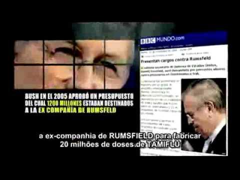Gripe H1N1(Suina) e Tamiflu - CONHEÇA A VERDADE !!!