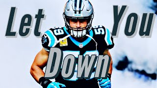 "Luke Kuechly Career Tribute Mix - ""Let You Down"" (Career Highlights) HD"