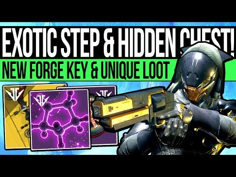 Destiny 2 | NEW QUEST STEPS & HIDDEN CHEST! Exotic Quest, New Curated Weapons, Unique Loot & Warning