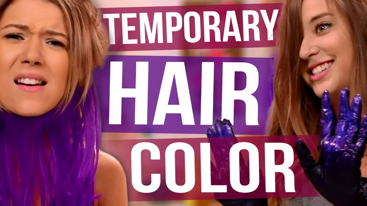 3 Easy Ways To Temporarily Color Your Hair Youtube
