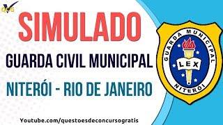 Simulado Guarda Civil Municipal de Niterói - RJ