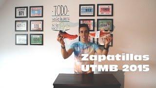 Zapatillas para el Ultra Trail du Mont Blanc -  UTMB 2015