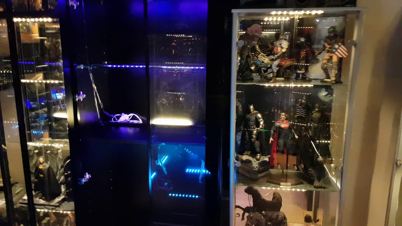 Hot Toys Display Cabinet Part 2 Youtube