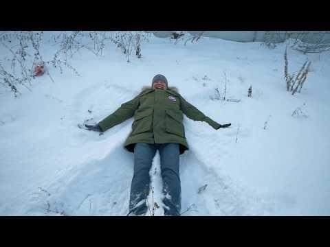 Зимние забавы Пескоструева на станции Панки