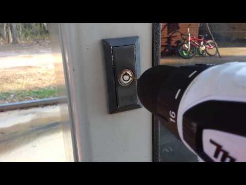 Successful Tubular Lock Drillout - Vending Machine