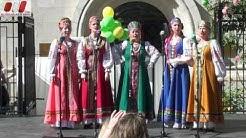 Russian Gesang Song Ensemble «Liebling». Russisch-Österreichisches Straßenfest in Wien