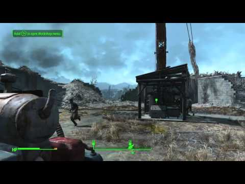 "Fallout 4 Turning On The Radio Tower ""Taking Independence"""