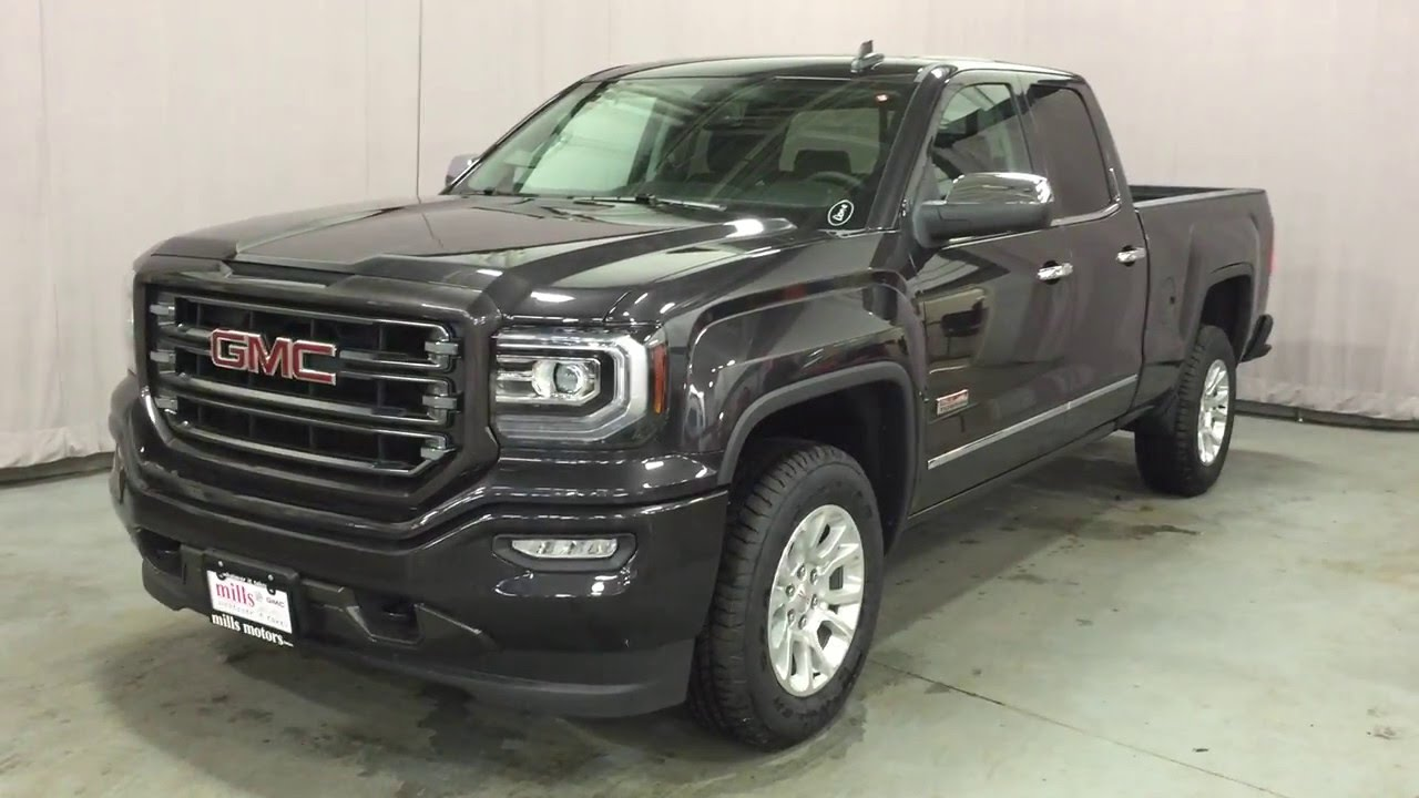 2016 gmc sierra 1500 sle all terrain double cab 4wd gray oshawa on stock 160725 youtube. Black Bedroom Furniture Sets. Home Design Ideas