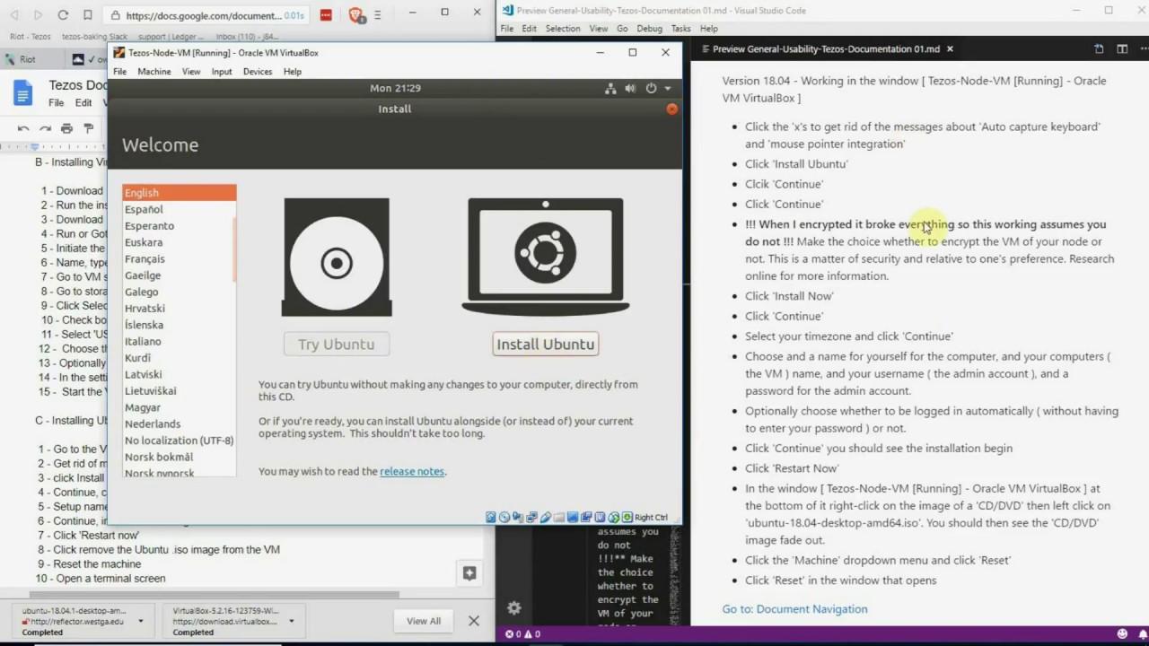 visual studio code ubuntu 18 04