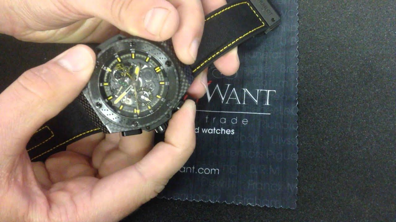 63f11b8b7d6 Hublot Big Bang King Power Ayrton Senna Chronograph Luxury Watch Review