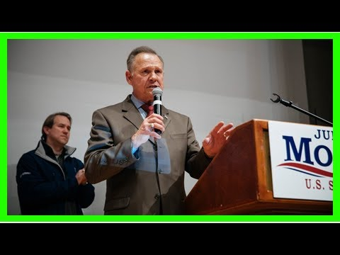 AMERICAN NEWS TODAY - Roy moore supporters address and does not admit