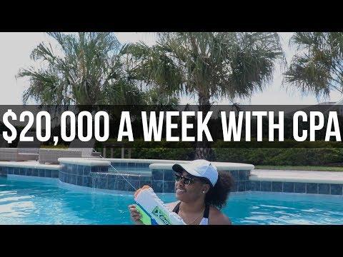 WHAT IT'S LIKE MAKING $20K+ A WEEK w/ CPA AFFILIATE MARKETING thumbnail