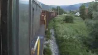 Unska pruga, vožnja u lokomotivi 661 322