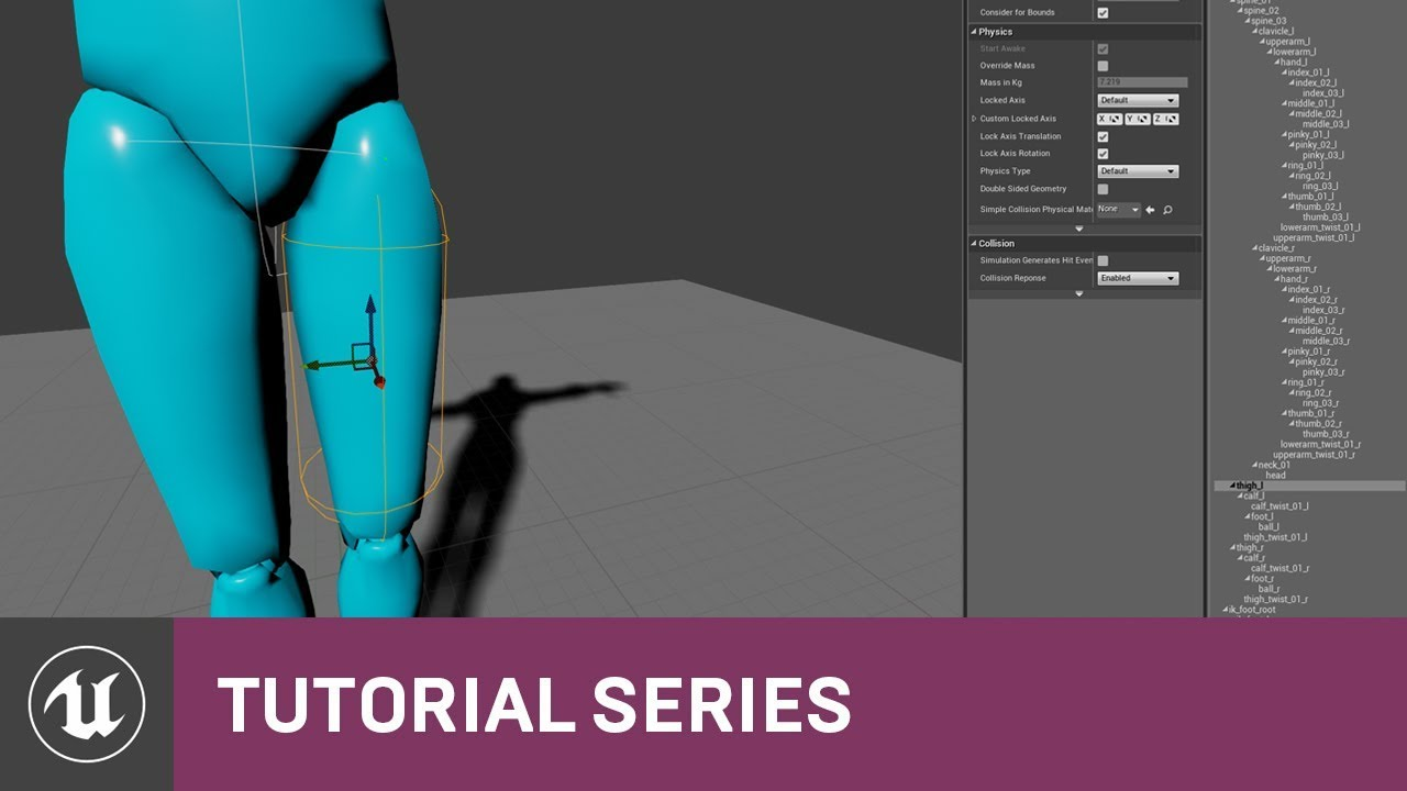 Ue4 Physics Asset Add Body