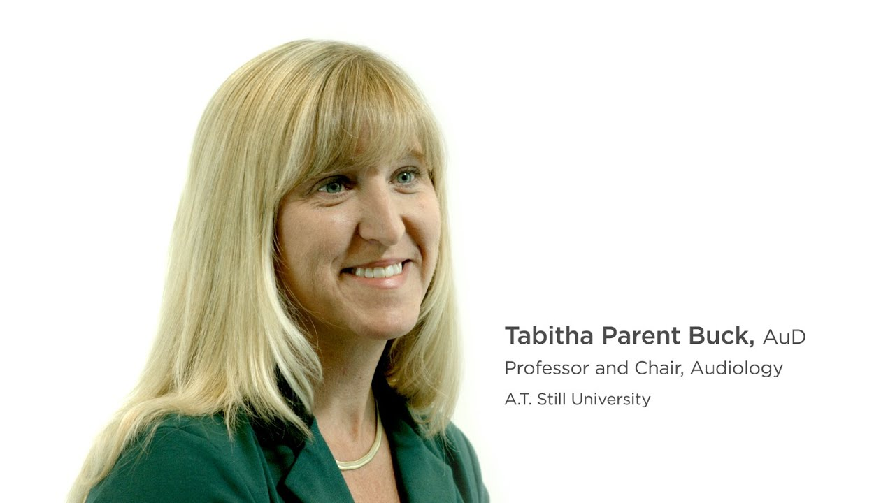 Doctor Of Audiology Degree Atsu Tabitha Parent Buck Chair Youtube