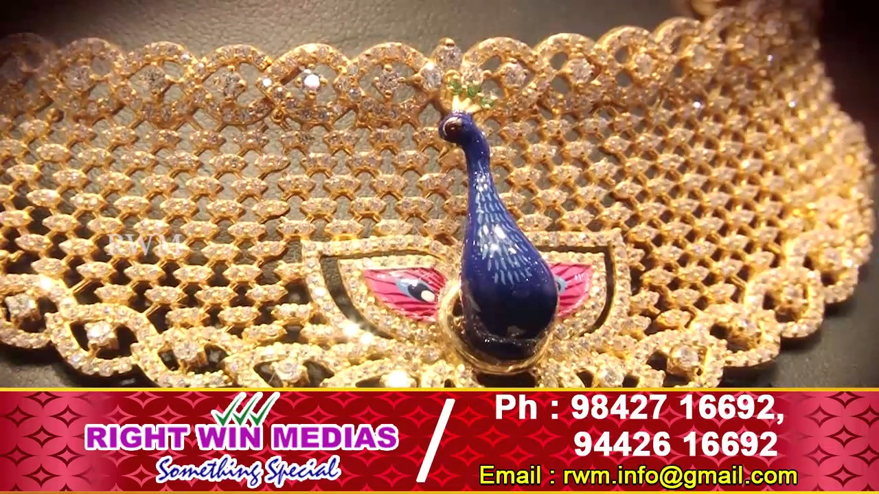 AVR SwarnaMahal I Necklaces Collection I Salem - YouTube