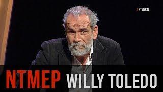 Willy Toledo pide perdón a Dios y a la Virgen María #NTMEP