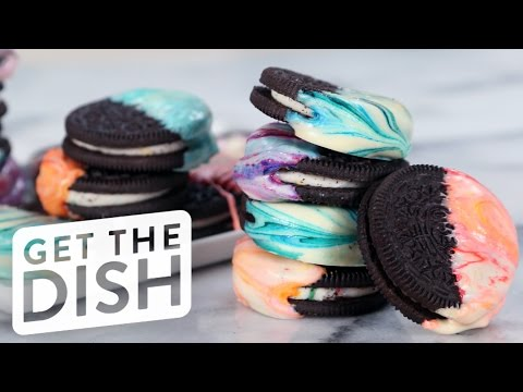 How To Make Marbled Oreos In Easy Steps