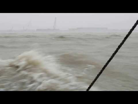 Padma river storm... its totally horrible