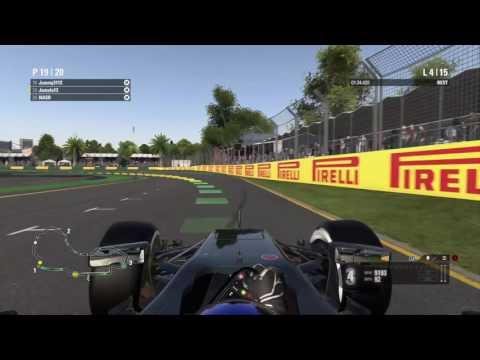 Race 1 - Australia - Phoenix 4 Way - F1 2016