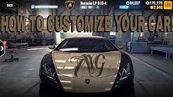 CSR Racing 2 How to customize a car?