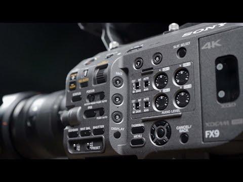 PXW-FX9|SONY|Quick Look|6K Sensor|Dual Base ISO|Quick Look