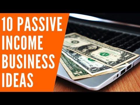10 Passive Income Business Ideas That Make Good Money