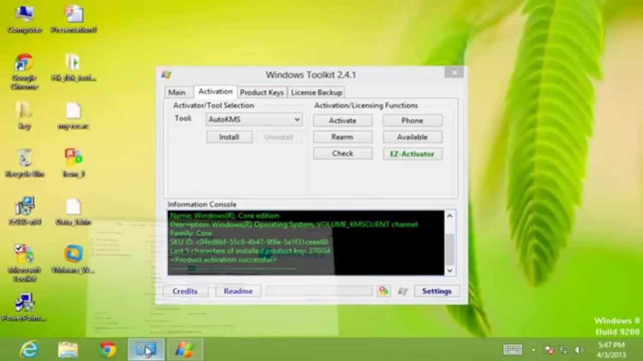microsoft toolkit 2.4.5.exe