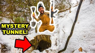 Exploring the HIDDEN MYSTERY TUNNEL in My BACKYARD!!!