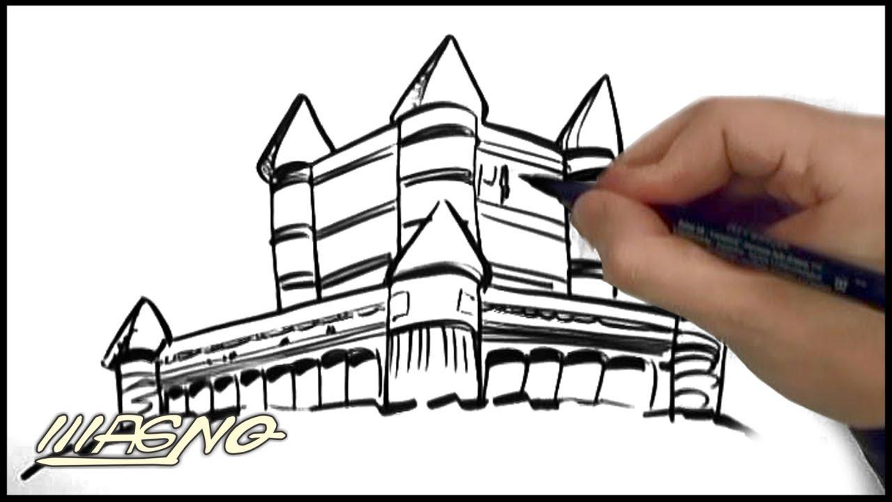 Curso De Desenho Como Desenhar Castelos E Paisagens Exoticas How
