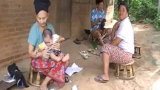 Yao or Mien people in Chiang Rai