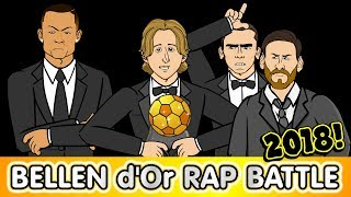 🌟Ballon d'Or 2018 RAP BATTLE🌟 Modric! Ronaldo! Messi Griezmann! Mbappe! Salah!